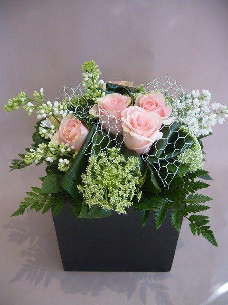 Les 25 meilleures id es de la cat gorie composition florale sur pinterest c - Idee composition florale ...