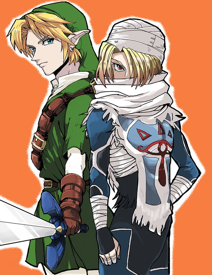 The Legend of Zelda: Ocarina of Time - Link and Sheik