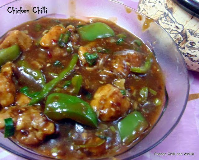 Chicken Chilli Restaurant style,Easy Chicken Chilli,Chilli Chicken/Chilly Chicken recipe