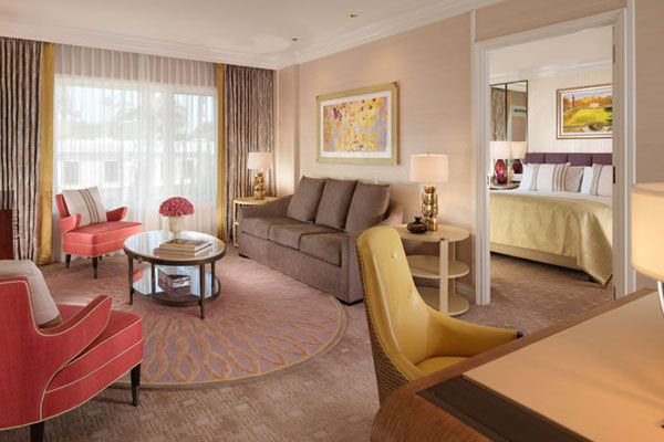 Junior Suite at The Beverly Hills Hotel