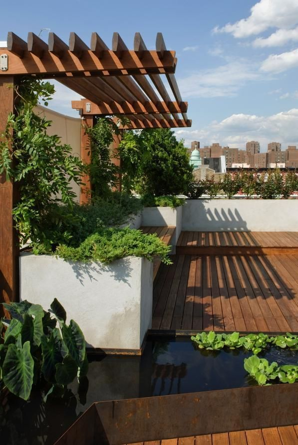 Ogrody dachowe też mogą być niezwykle piękne (Manhattan) fot.: sarfinger.pinger.pl