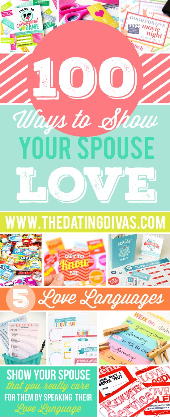 Love your spouse in their love language!  This is the perfect collection of special ways to truly show that you care!