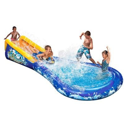 Banzai Wave Crasher Surf Slide - Includes 1 Body Board