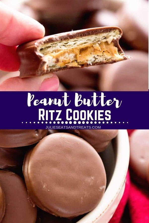Peanut Butter Ritz Cookies ~ Our FAVORITE treats f…