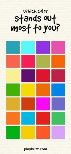 According to experts, men and women are drawn to different variations of color. This beautiful color test determines whether your dominant gender is male, female or unisex!