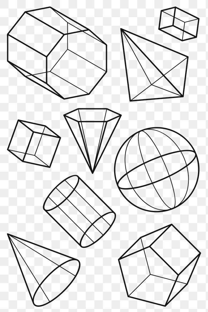 3d Geometric Shape Design Element Set Free Image By Rawpixel Com Aew 3d Geometric Shapes Geometric Shapes Design Geometric Shapes