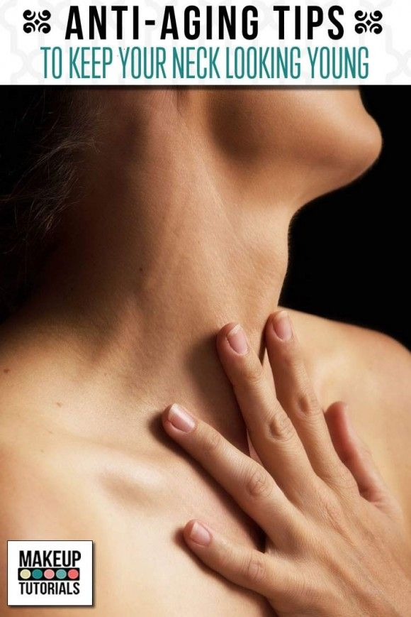 Anti Aging Tips | Skincare Tips and Ideas for Your Neck by Makeup Tutorials http://makeuptutorials.com/anti-aging-tips-wrinkle-free-neck/