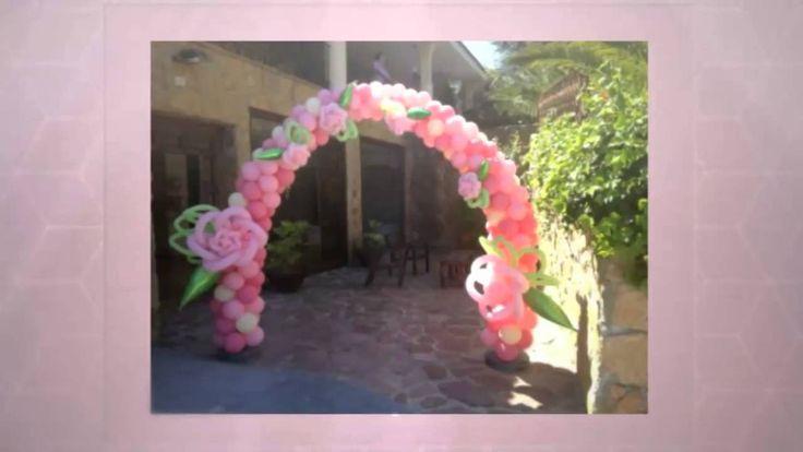Decoracion con Globos para Fiestas Privadas y Cumpleaños en Madrid http://www.fiestasconglamour.com