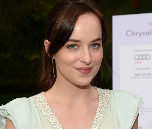 Dakota Johnson is set to play Ana Steele in 50 Shades of Grey, I just don't think she's innocent enough, but she's gorgeous nonetheless