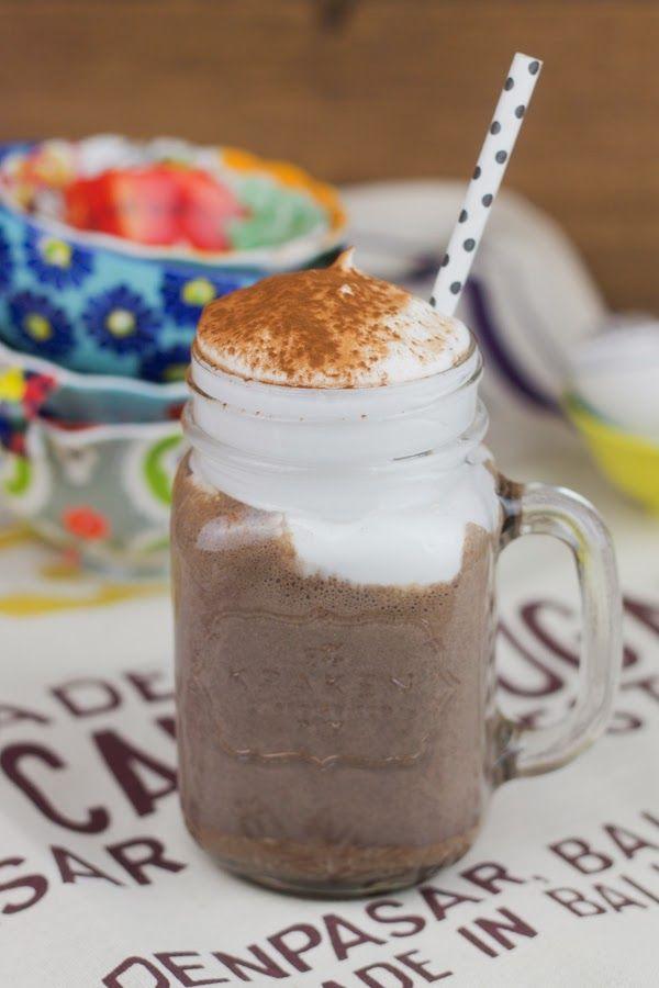 Batido de chocolate con baileys de Alma Obregón
