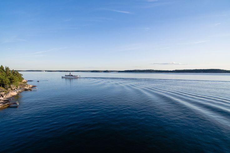 Flygfoto Ljusterö SS Storskär