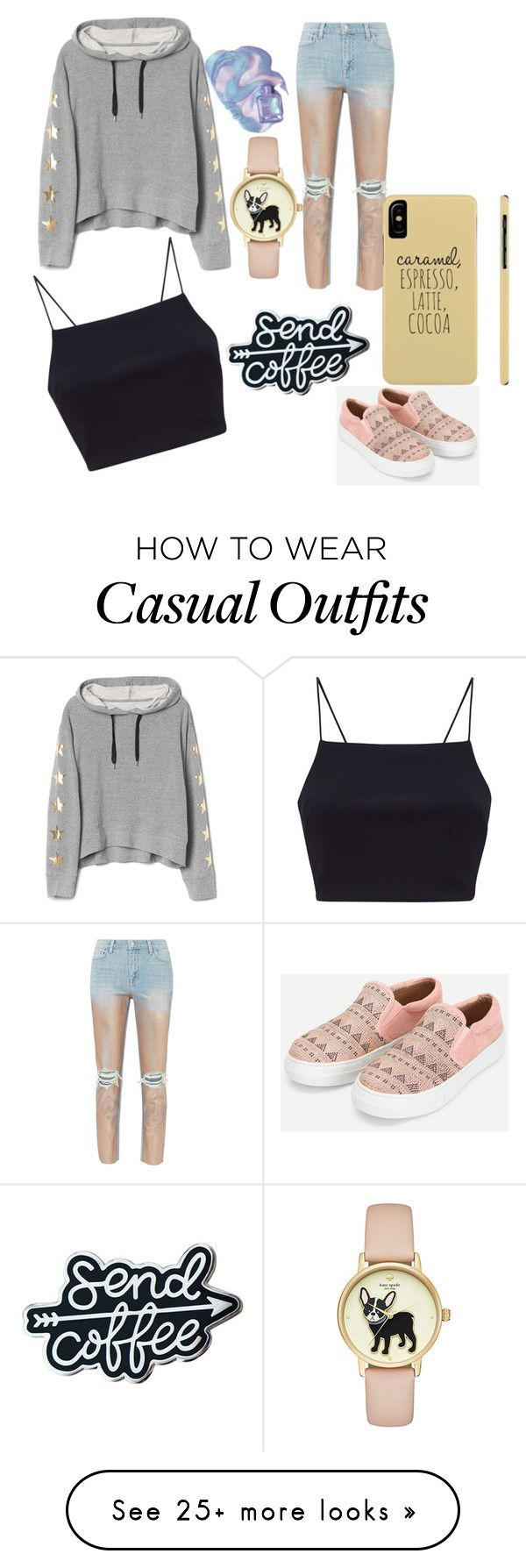 """""""Casual Outfit"""" by vidiaapollo on Polyvore featuring L'Agence"""