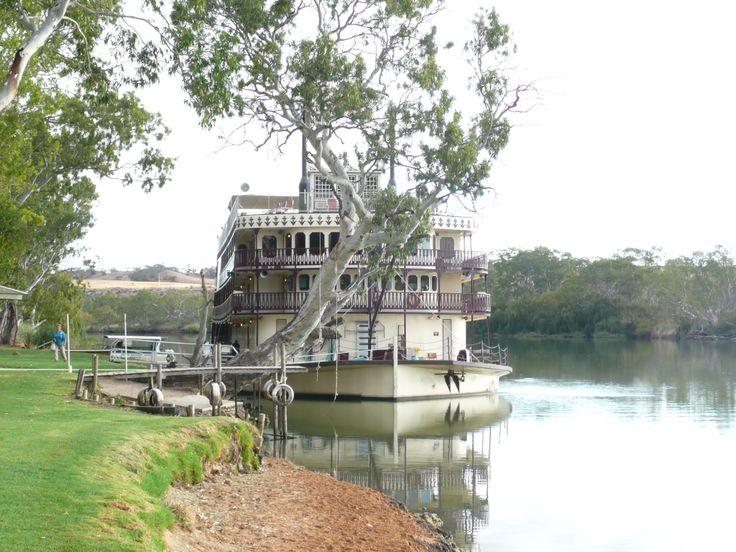 Murray Princess paddle wheeler on Murray River South Australia
