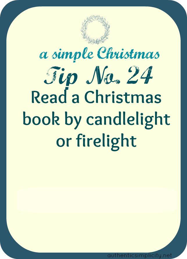 A Simple Christmas Tip 24