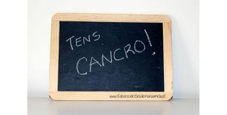 Quando a palavra cancro entrou na minha vida. #Cancro Aqui: http://www.ofabulosodestinodemariaamelia.pt/quando-a-palavra-cancro-entrou-na-minha-vida/