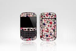 "Blackberry ""Ornate Floral"" (Approx. ZAR 75.00)"