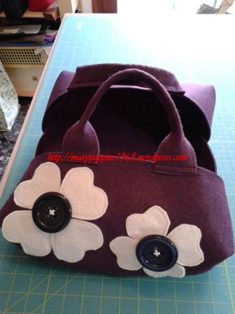Felt pie carrier cake carrier - Porta torte in feltro tutorial DIY