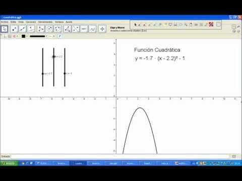▶ Funciones geogebra - YouTube  Códigos QR y Realidad Aumentada en el aula de Matemáticas. De la profesora  Eva Mª Perdiguero. Corresponde a la misma experiencia expuesta en el podcast : Códigos QR y Realidad Aumentada en el aula de Matemáticas #QR #educación