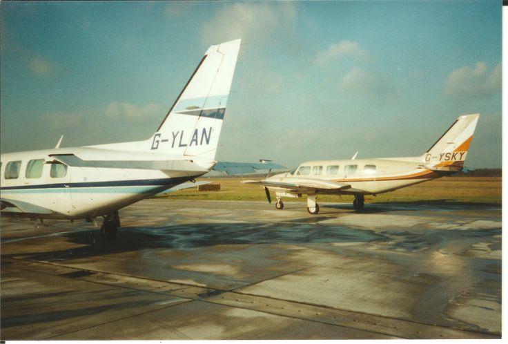 SKK PA31-350 Chieftain GYSKY GYLAN ca 1989