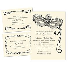 Best 25 Masquerade Wedding Invitations Ideas On Pinterest