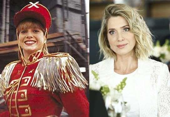 Letícia Spiller, a Pituxa Pastel.Atualmente uma atriz de sucesso, Letícia ficou no ar com Xuxa de 19... - Foto: Reprodução