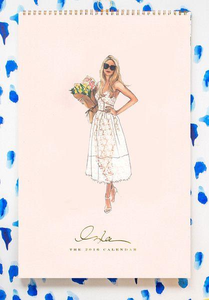 Fashion Illustration Calendar : Best images about inslee haynes on pinterest