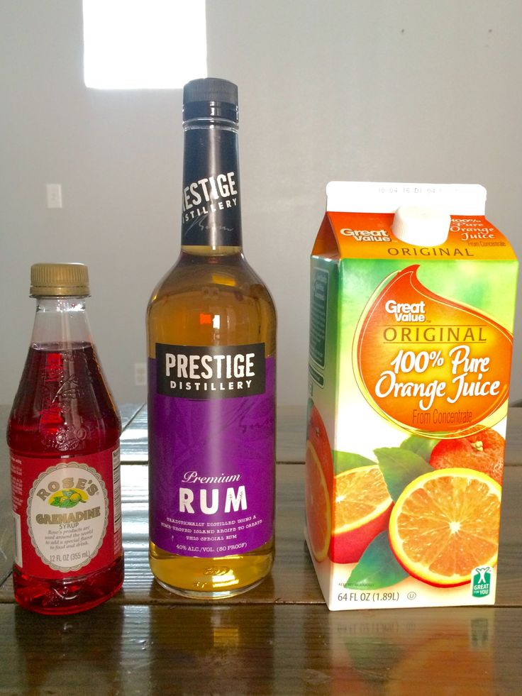 National Eats 365 August 16 National Rum Day Rum Sunset Cocktail Recipe