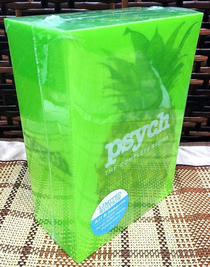 Psych Complete Series Seasons 1-8 DVD Set Brand New Factory Individually Sealed Season 1,2,3,4,5, 6, 7, and 8! Free Media Mail Shipping. #disc #brand #season #series #complete #psych