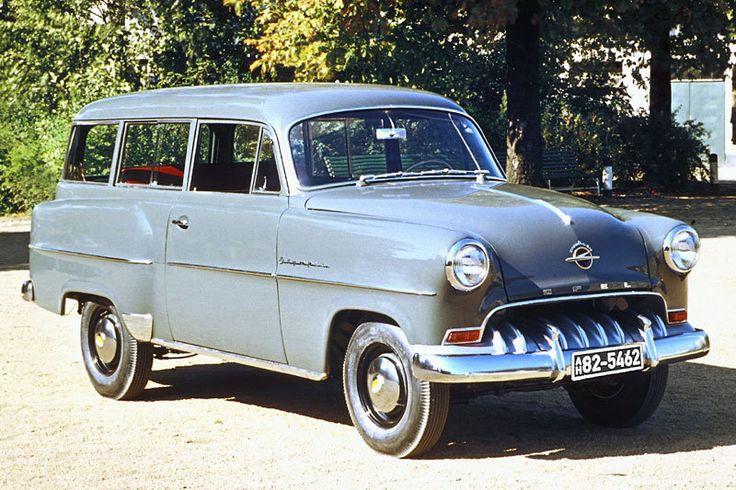 Opel Olympia Rekord von 1953 - 1954