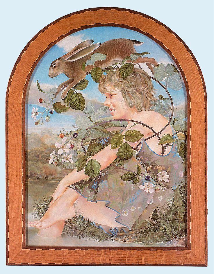 Kit Williams, wonderful English artist