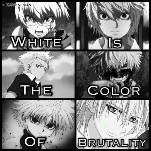 Killua ( ˘ ³˘)♥ Color #7