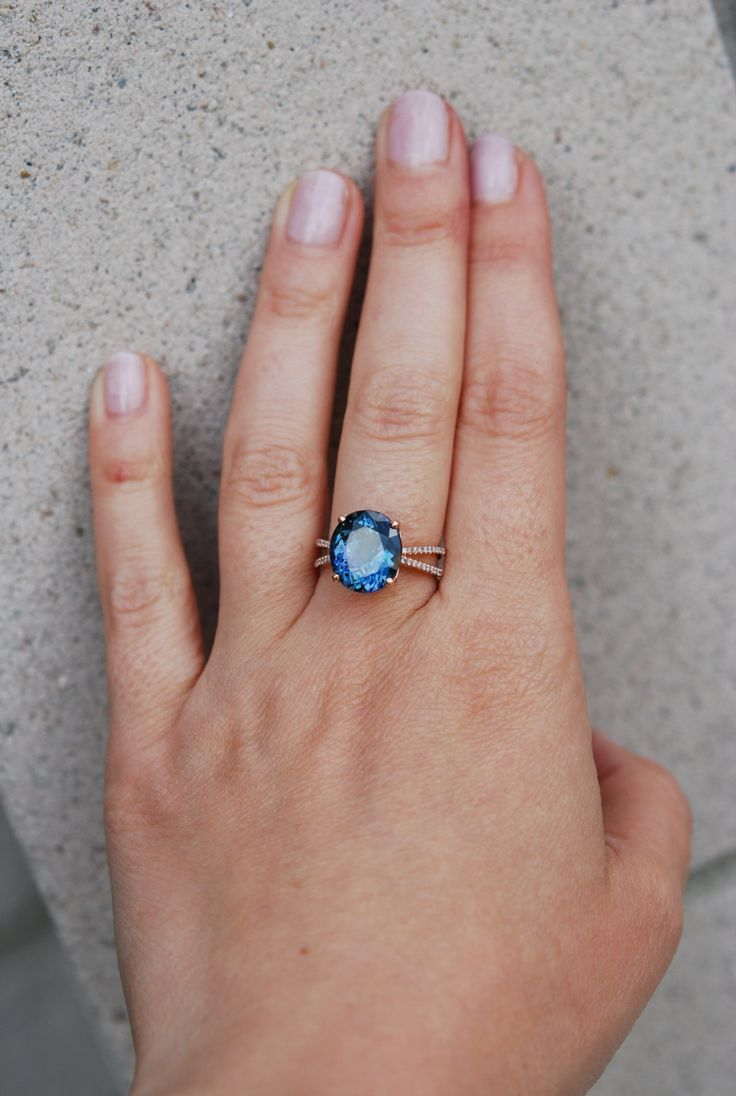 Reserved Down Payment Tanzanite Ring Rose Gold Engagement Ring Gia  Certified Teal Tanzanite Oval Cut Engagement Ring 14k Rose Gold