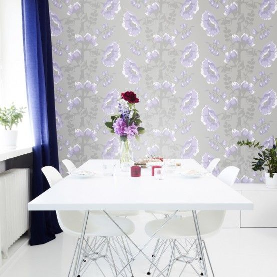 Silk kiss, Wallpaper, Vallila, Finnish Design, February 2016