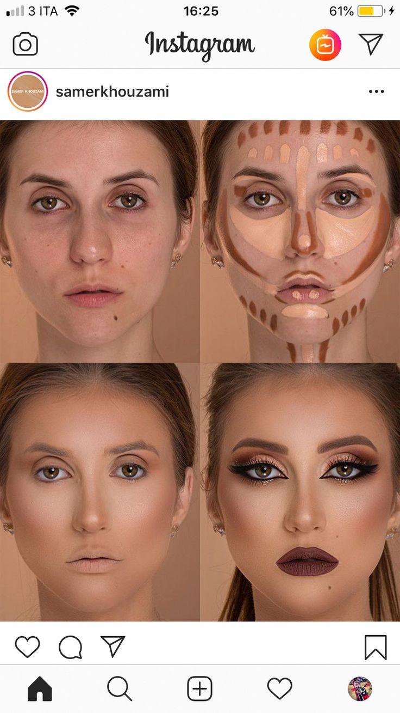 Acrylic Eyeshadow Organizer & Beauty Care Holder Provides