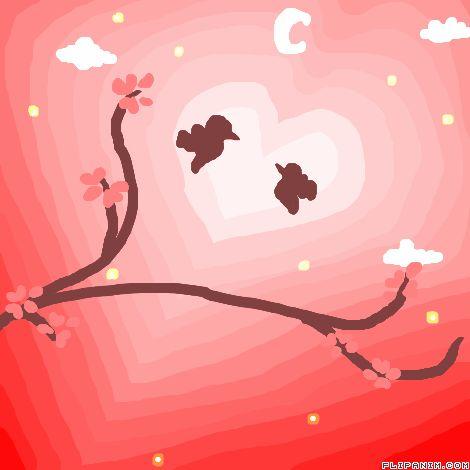 love birds ^w^ by shyroselove #gif #anim #animation #flipanim #flipbook #drawing #draw