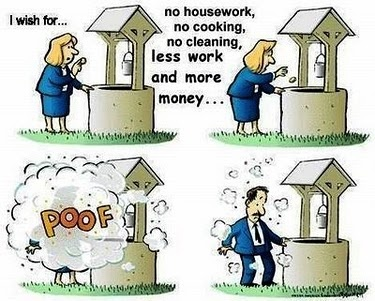 I know many men who also do cleaning and housework (eg my partner) but sadly, I think there is still a lot of truth to this. #equalpay