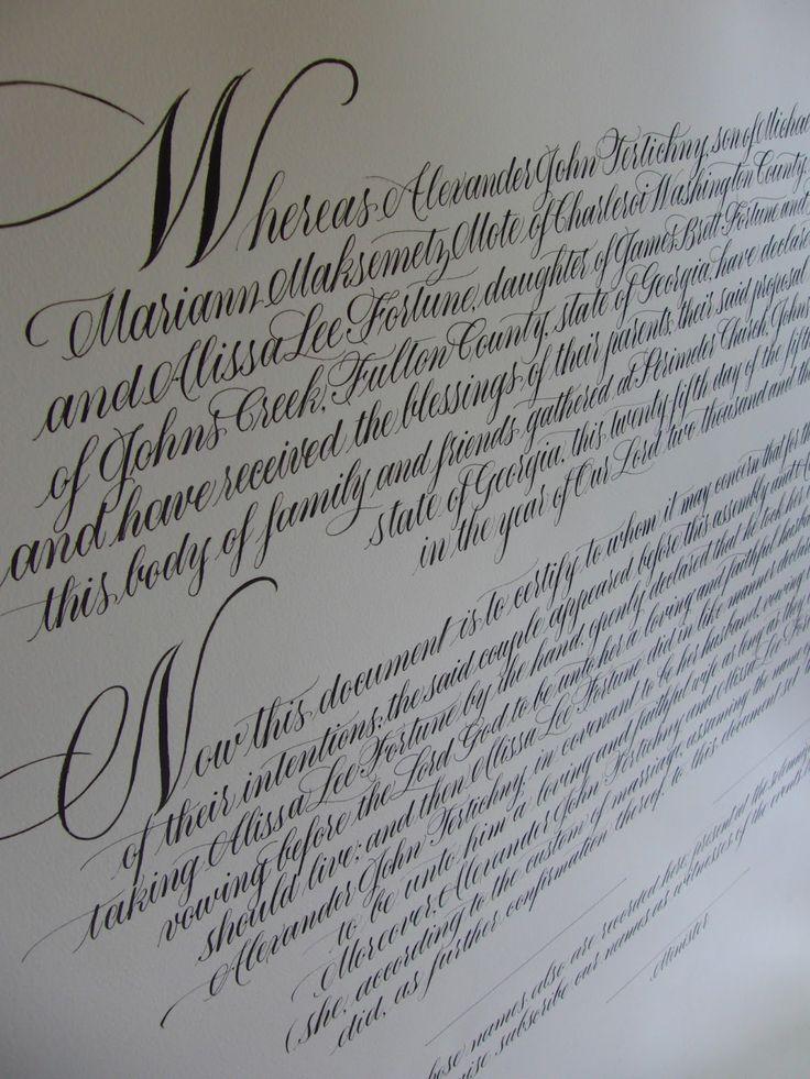 Anne Elser: Quaker Wedding Certificate