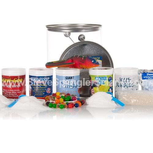 Larry's Lab - Polymer Science Kit  this looks like it be a lot of fun on those rainy days :)
