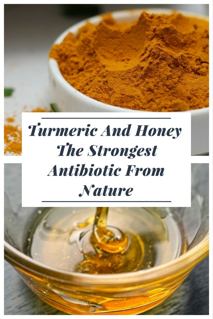 Turmeric And Honey – The Strongest Antibiotic From Nature – Just  Organic Remedies