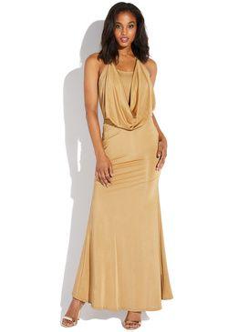 4e6520925f4 DRAPE NECK MAXI  ad  dress  womenwear  womenfashion  fashion