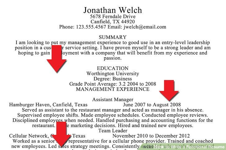 wikiHow to Write a Functional Resume