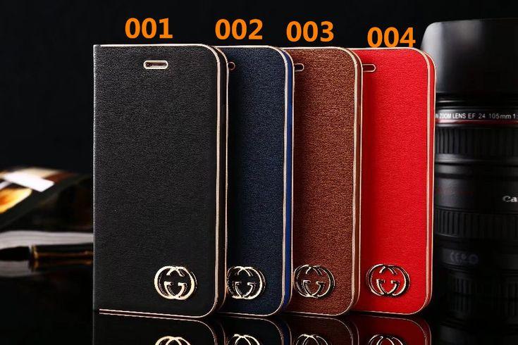 シンプル オリジナル ビジネス風 iPhoneケース グッチ GUCCI アイフォンケース スタンド機能 手帳型 iPhoneX/8/7ケース ブランド