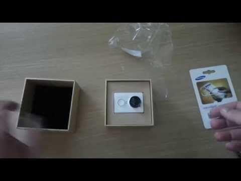 Unboxing Xiaomi YI Sport Camera