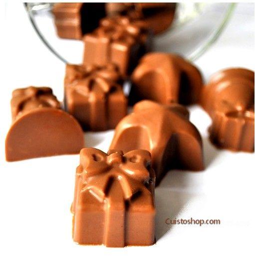 Recette de chocolats fourrés maison