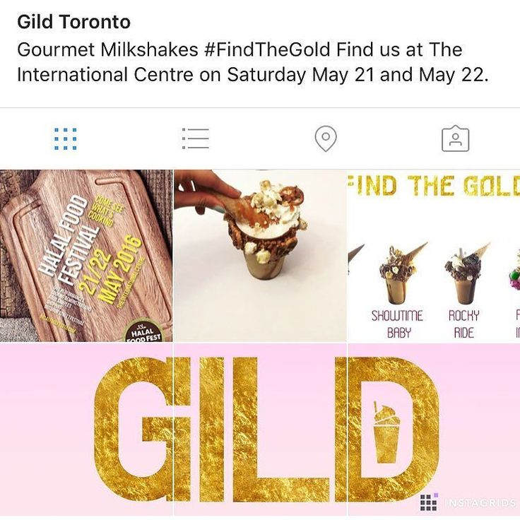 4 DAYS TO GO! Excited to be launching GildToronto at this years Halal Food Festival. Come indulge in our creamy dreamy milkshakes crafted especially for you. May 21 and 22 at The International Center - See you there!  #FindTheGold #HalalFoodFestival #Toronto #Mississauga #Foodie #CrazyMilkshakes #FindTheGold  Find us at The International Centre on Saturday May 21 and May 22.  #Milkshakes #Gourmet #IceCream #Nutella #Foodie #HalalFoodFest #Toronto #Mississauga by maraj_