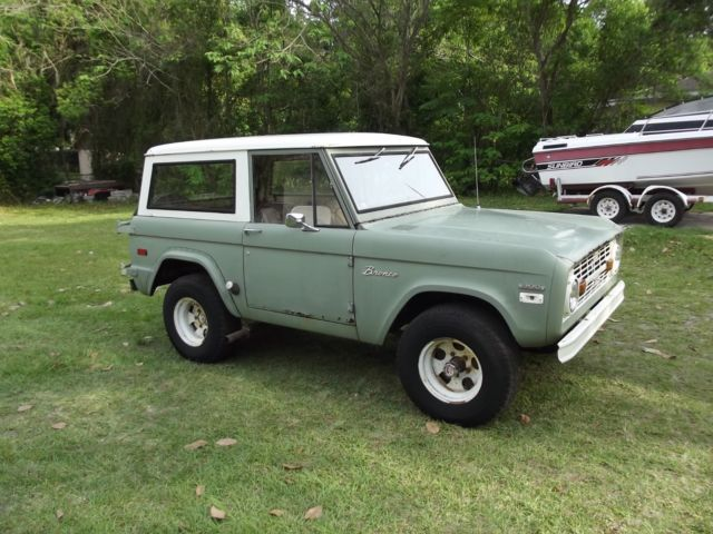 1970 Ford Bronco 4x4 Barn Find One Owner With Images Ford