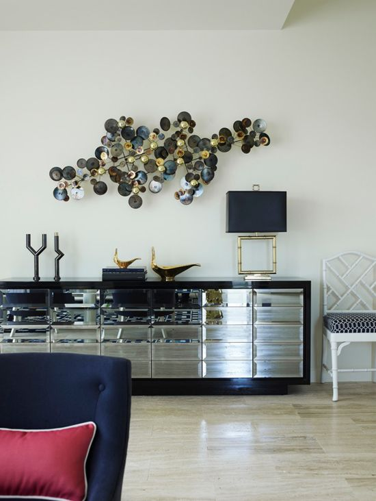 Greg Natale, Adore Aug/Sept 2012, mirrored console, C. Jere