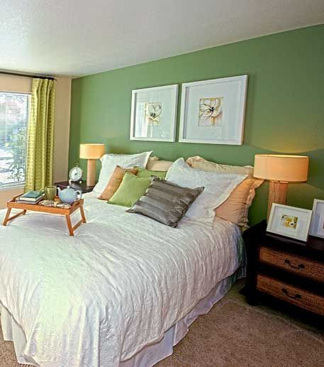 Green Accent Wall Mesmerizing Of Green accent wall | Casa | Pinterest Photo