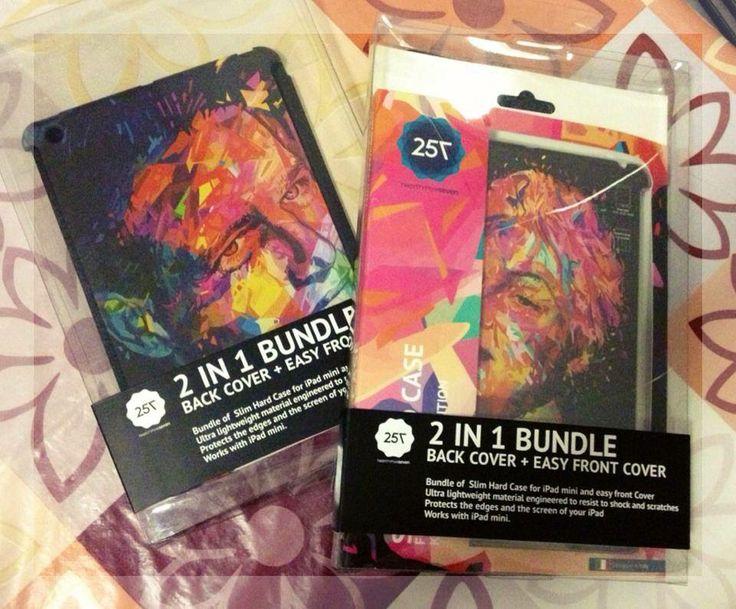 @Erika Barbato just received Paul & Rita for her #iPad mini #RitaHayworth #PaulNewman #TwentyfiveSeven #follow #fashion #blogger #instapic #cover #hinnovation #habra