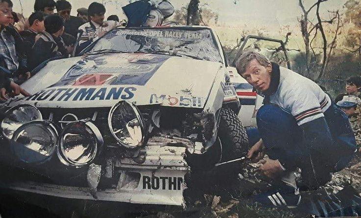 Walter Röhrl Rallye Portugal 82'
